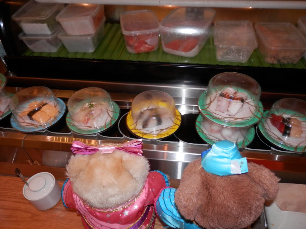 All Aboard the Sushi Train