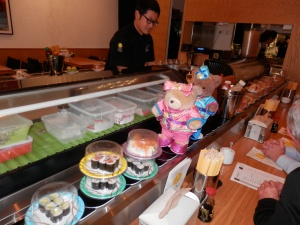 All Aboard the Sushi Train