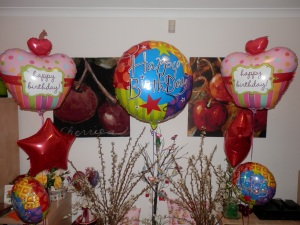 Even balloons do as they're told!