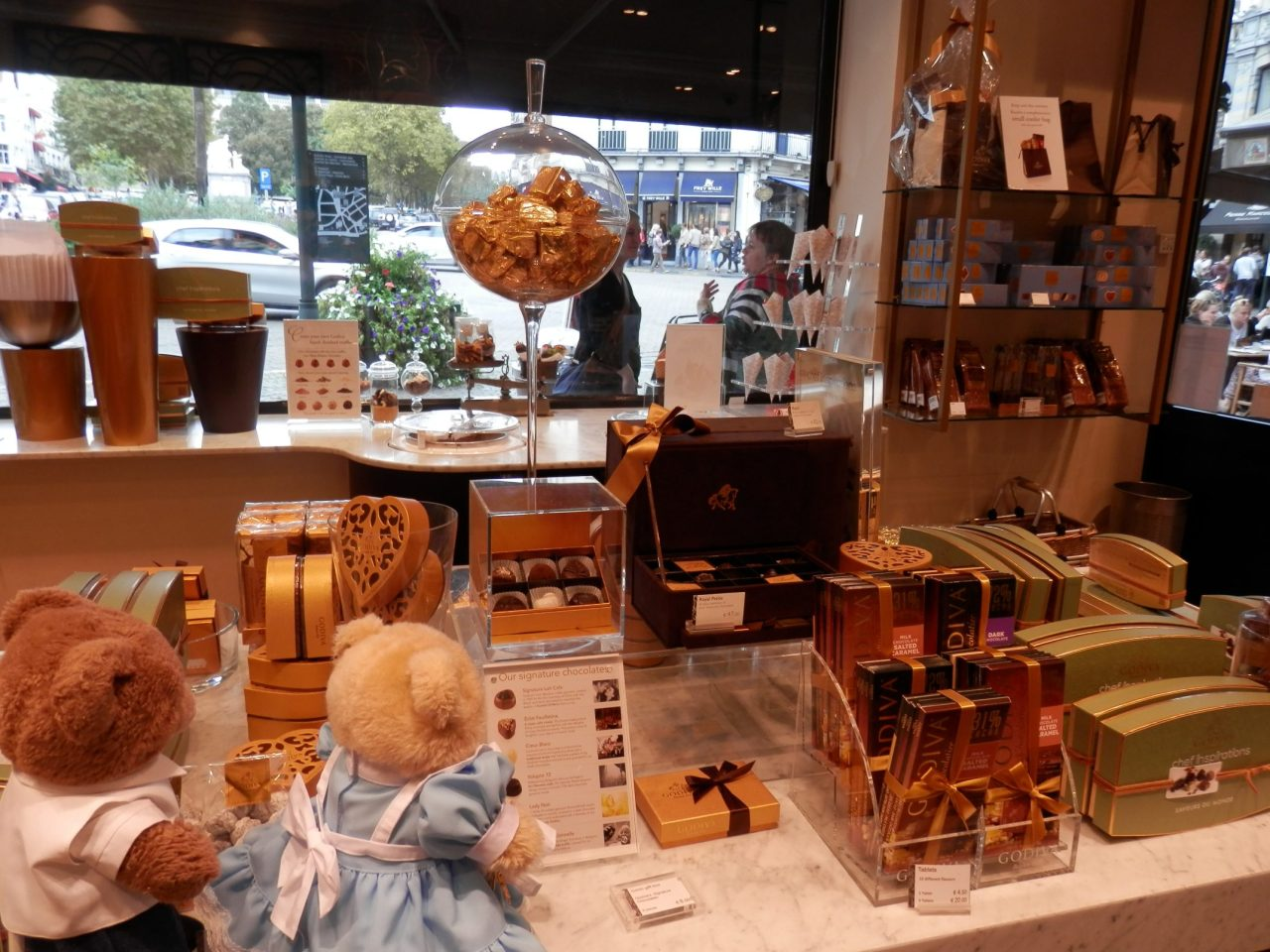 On the Chocolate Trail inBrussels