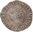 Elizabeth I sixpence, 1560-1