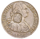 George III Spanish eight reales, 1797