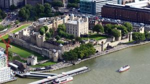 Tower of London, aerial view
