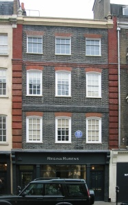 Handel House Museum, 25 Brook Street, Mayfair