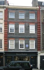 Handel House Museum, 25 Brook Street, Mayfair