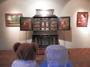 The Rubenshuis, Curio cabinet