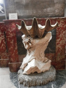 Saint Sulpice Church, Seashell Font