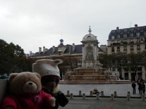 Place Sulpice Fountain