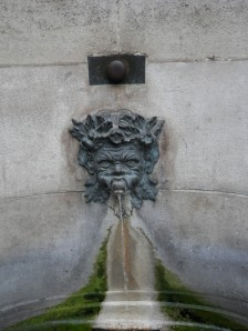 Fountain commissioned by the Princess of Palatinate, 10 Rue Garanciere