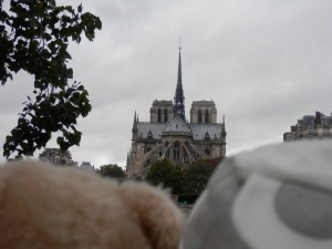 View of Notre-Dame from Quai d'Orleans