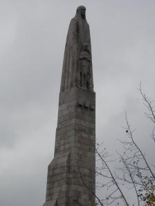 Pont de la Tournelle, Statue of Saint Genevieve