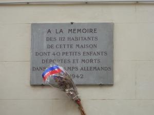 Memorial plaque, 10 Rue des Deux-Ponts