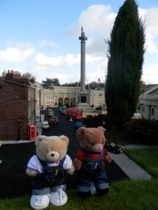 Miniland, London, Trafalgar Square and Nelson Column