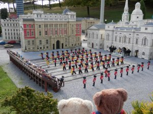 Miniland, London, Changing of the Guard