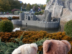 Miniland, Wales, Caerphilly Castle