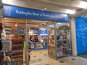 Paddington Bear Shop at Paddington Station
