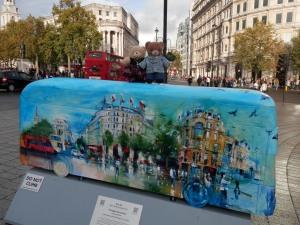 Bus Art,  Trafalgar Panoramic by Rob Wilson