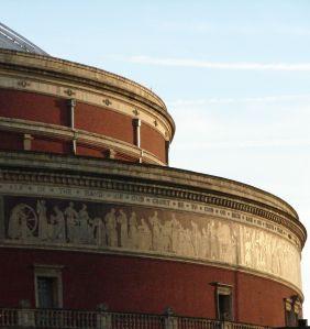 Royal Albert Hall, Freeze detail