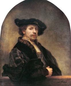 Rembrandt, Self-portrait At Age 34,  1640