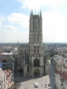 St Bavo's Cathedral seen from the Belfry