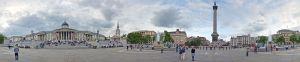 Trafalgar Square, 360 Panorama