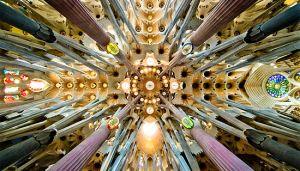 Sagrada Familia Nave Roof