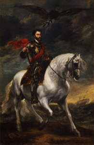 Anthony Van Dyck, Portrait of Charles V on Horseback