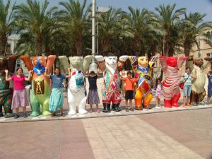 Buddy Bears Jerusalem 2007