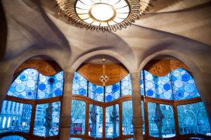 Casa Batlló Interior of Noble Floor