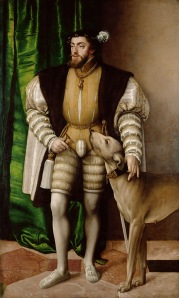 Prado Museum, Charles V by Titian