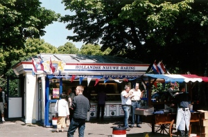 Dutch herring stand