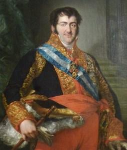 Ferdinand VII by Vicente López y Portaña