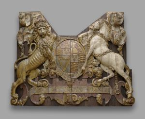 Stern carving from the Royal Charles, Anonymous, c. 1660