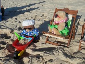 Beach outing