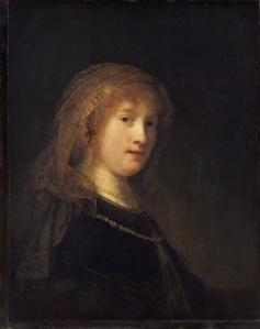 Rembrandt van Rijn - Saskia van Uylenburgh, 1635