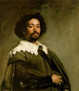 Portrait of Juan de Pareja by Diego Velazquez, 1650