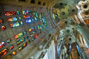 Sagrada Familia - A Forest in Abstraction