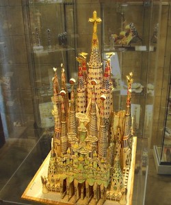 Sagrada Familia - Gaudi Model of Completed Church