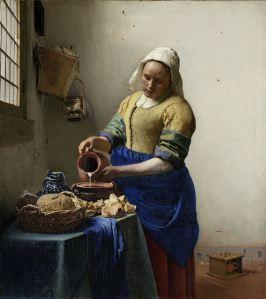 The Milkmaid, Johannes Vermeer, c. 1660