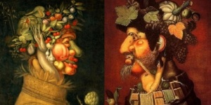 Arcimboldo, Summer and Autumn Heads
