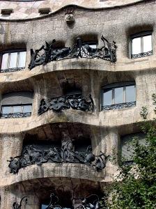 Casa Mila Balcony