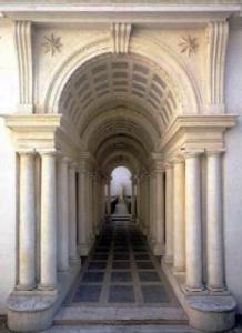 Palazzo Spada Courtyard Gallery