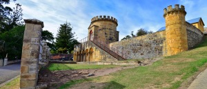 Port Arthur Historic Site, Military compound and guard tower