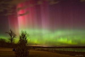 Aurora Borealis, Des Moines, Iowa, USA