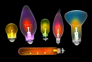 Lightbulbs in X-ray light