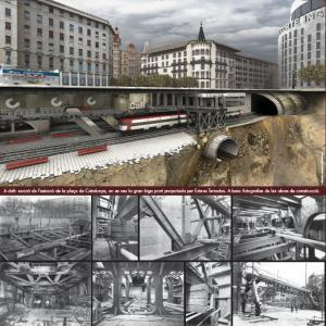Construction of Metro Transversal built between the Plaça de Catalunya and la Bordeta to link the city centre with the Plaça d'Espanya and Montjuïc, the site of the 1929 Barcelona International Exposition
