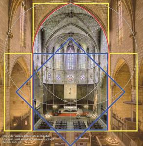 Pedralbes Monastery Church - The Harmony of Proportions