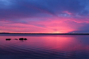 Pink & Purple Sunset, Rhode Island