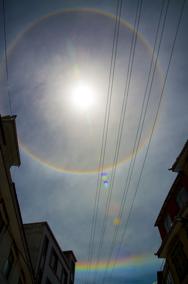 """Two """"circular rainbows"""" in Nyalam, Tibet,  by Antigone Marino"""