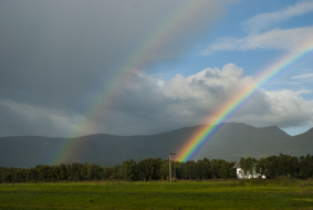 First and Second order Rainbow in Norway, 2009. Credits: Antigone Marino